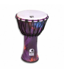 Djembe Toca Percussion SFDJ 9WP Freestyle Woodstock Purple