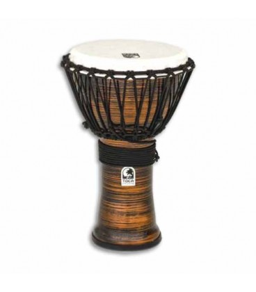 Djembe Toca Percussion TF2DJ 9SC Freestyle II Afina巽達o Cordas Spun Copper