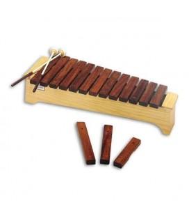 Xilofone Honsuy 49080 Soprano Diatónico Dó a Lá com Batentes
