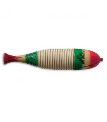 Foto do Reco Reco Goldon modelo 33230 30cm Fish Style Guiro