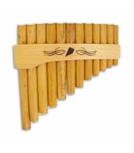 Flauta de Pan Schwarz 0 055F Lá Mi Curva