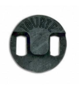 Surdina Dick Tourte 543131 em Borracha para Violoncelo Orquestra