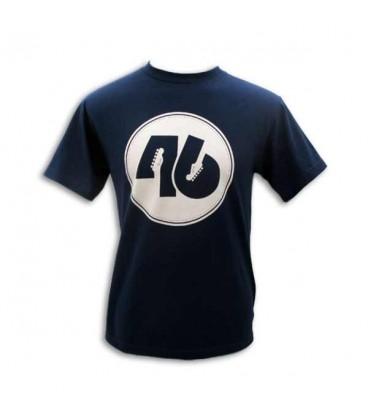 T shirt Fender Azul 46 C鱈rculo Size L