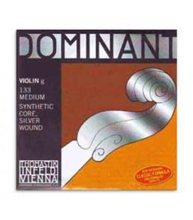 Corda Thomastik Dominant 133 para Violino 4/4 4捉 Sol