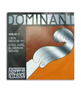 Corda Thomastik Dominant 130 para Violino 3/4 1 Mi