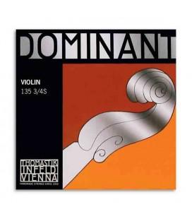 Corda Thomastik Dominant 133 para Violino 3/4 4捉 Sol