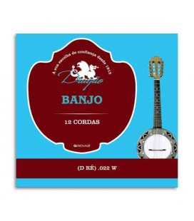 Corda Individual Dragão 890 para Banjo .022 3ª Ré