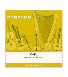 Jogo de Cordas Pyramid 170100 para Violoncelo Alumínio 4/4