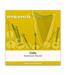 Jogo de Cordas Pyramid 170100 para Violoncelo Alumínio 3/4