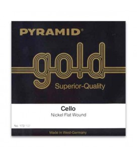 Jogo de Cordas Pyramid Gold 173100 para Violoncelo 4/4