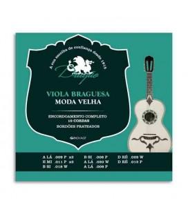 Jogo de Cordas Dragão 001 para Viola Braguesa 10 Cordas Afinação Moda Velha
