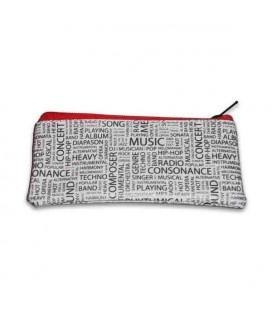 Porta Moedas Collection com Motivos Musicais