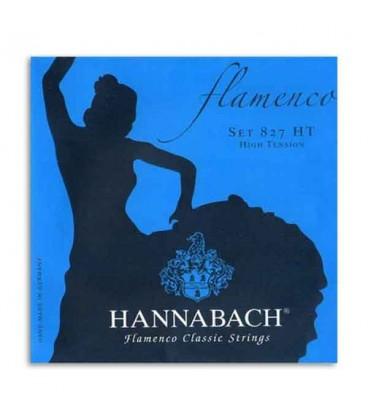 Jogo de Cordas Hannabach E827HT para Guitarra Flamenco Nylon Alta Tens達o