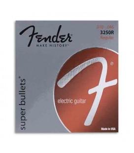 Jogo de Cordas Fender 3250R para Guitarra El辿trica Niqueladas 010