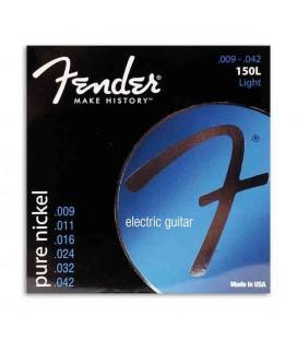 Jogo de Cordas para Fender 150L Guitarra Elétrica Pure Nickel 009
