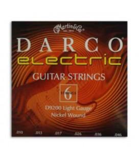 Jogo Cordas Martin Darco D9200 Guitarra Elétrica 010