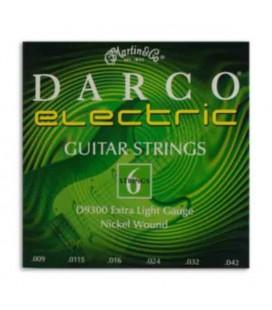Jogo de Cordas Martin Darco D9300 Guitarra Elétrica 009