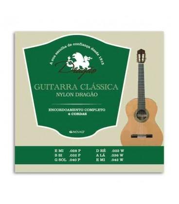Jogo de Cordas Drag達o 026 para Guitarra Cl叩ssica Nylon