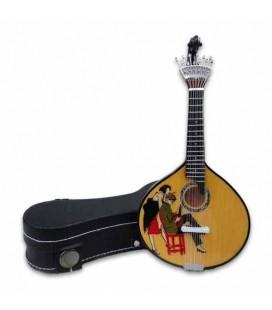 Miniatura CNM  526 Guitarra Portuguesa com Estojo Stuart Carvalhais