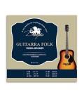 Jogo de Cordas Drag達o 045 para Guitarra Folk 6 Cordas 1200