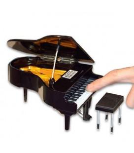 Miniatura Collection Piano de Cauda com Banco