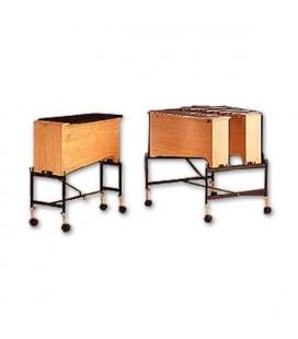 Suporte Honsuy 49830 para Metalofone ou Xilofone Baixo Cromático
