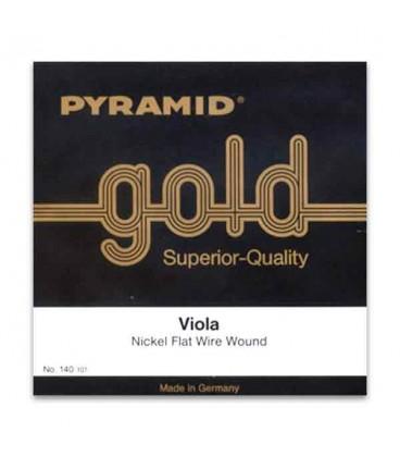 Jogo de Cordas Pyramid Gold 140100 para Viola