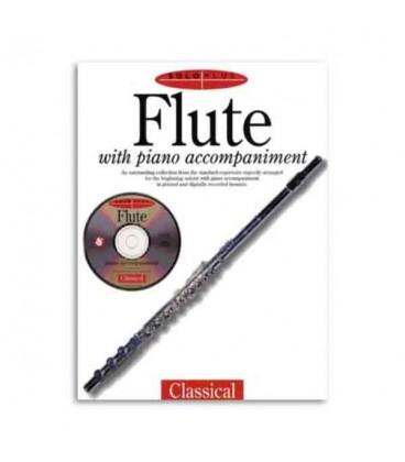 Solo Plus Classical Flute Book CD