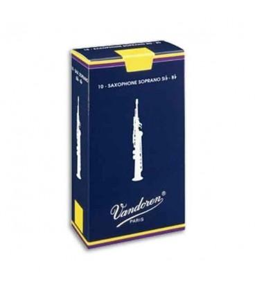 Palheta Vandoren SR201 para Saxofone Soprano n尊 1