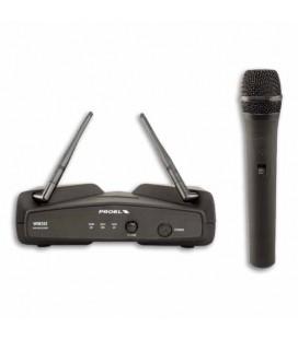 Microfone Sem Fio Proel WM202M Wireless UHF Handheld De mão