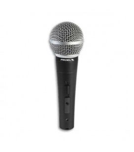 Microfone Proel DM580LCDinâmico com Interruptor com Cabo XLR