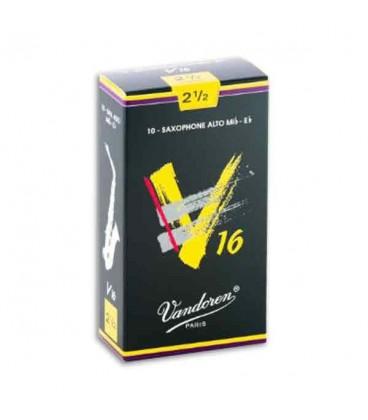 Palheta Vandoren SR7025 para Saxofone Alto V16 n尊 2 1/2