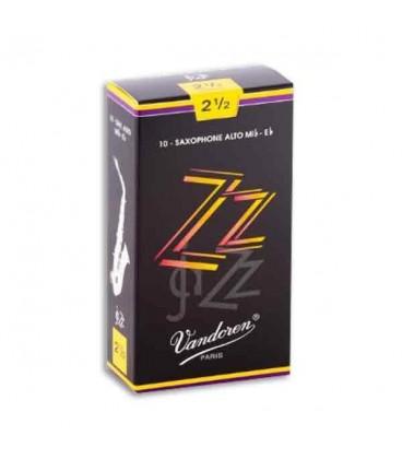 Palheta Vandoren SR4125 para Saxofone Alto Jazz n尊 2 1/2