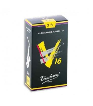 Palheta Vandoren SR7035 para Saxofone Alto V16 n尊 3 1/2
