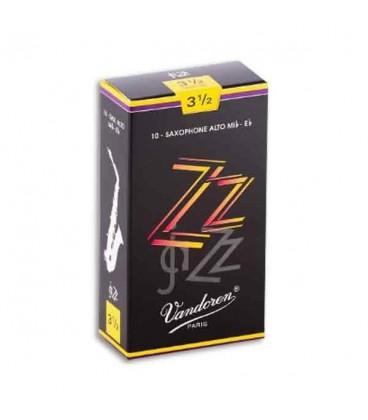 Palheta Vandoren SR4135 para Saxofone Alto Jazz n尊 3 1/2