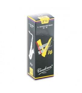 Palheta Vandoren SR7225 para Saxofone Tenor V16 n尊 2 1/2
