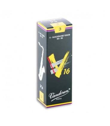 Palheta Vandoren SR723 para Saxofone Tenor V16 n尊 3
