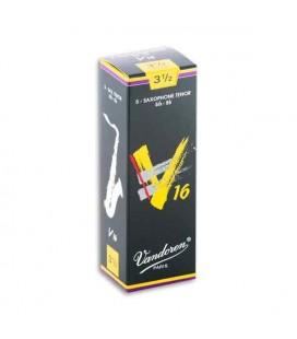 Palheta Vandoren SR7235 para Saxofone Tenor V16 n尊 3 1/2