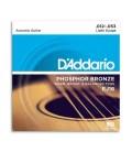Jogo de Cordas DAddario EJ16 012 Guitarra Ac炭stica Phosphor Bronze
