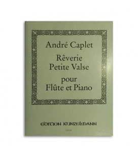 Livro Edition Peters GM607 Caplet Reverie and Petite Valse