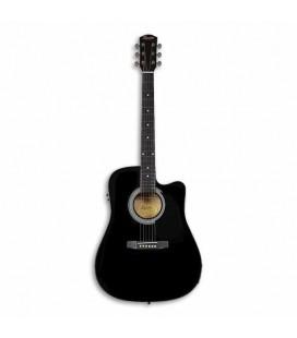 Guitarra Eletroacústica Fender Squier SA 105CE Preta
