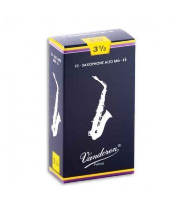 Palheta Vandoren SR2135 Saxofone Alto 3 1/2 Tradicional