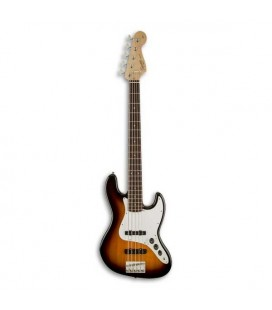 Guitarra Baixo Fender Squier Affinity Jazz Bass V 5 Cordas RW Brown Sunburst