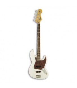 Guitarra Baixo Fender Squier Vintage Modified Jazz Bass RW Olympic White