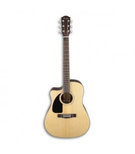 Guitarra Eletroacústica Fender CD 100CE LH Dreadnought Natural para Esquerdino