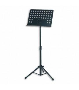 Estante FX Orquestra em Metal Perfurada Preta F900722