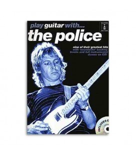 Livro Music Sales Play Guitar With The Police com CD AM991309