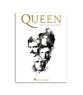 Livro Music Sales Queen Easy Piano Collection HL00139187