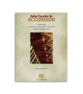 Capa do livro Italian Favorites Songs for Accordion