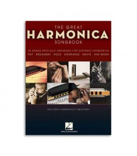 Livro Music Sales The Great Harmonica Songbook HL00821039